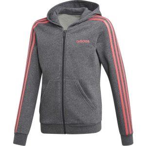 Adidas Sport Inspired Essentials 3-Stripes Full Zip Hoodie GS FH6613