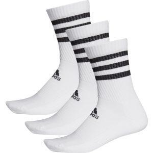 Adidas Performance 3-Stripes Cushioned Crew Socks 3 Pairs - DZ9346